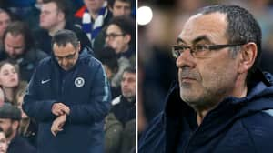 Maurizio Sarri Superstition Meant Chelsea Changed Their Usual Wembley Routine