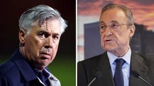 Carlo Ancelotti Demands Florentino Perez To Get Serie A Star