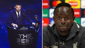 Sadio Mane Says He'd Vote For Lionel Messi Ahead Of Virgil Van Dijk For Ballon d'Or