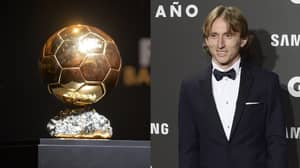 Modric's Odds For Ballon d'Or Slashed After GQ Award