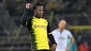 Michy Batshuayi Scores Brilliant Double In Dortmund's Comeback Vs Atalanta
