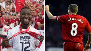 Naby Keita To Get Steven Gerrard's Infamous Number Eight Shirt