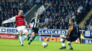 On This Day: Dennis Bergkamp Had A Right Laugh Against Newcastle's Defence