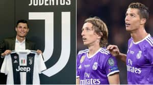 Luka Modric Reacts To Cristiano Ronaldo Potentially Joining Juventus