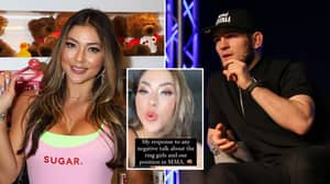 UFC Octagon Girl Arianny Celeste Shuts Down Khabib With Epic Response To Controversial Ring Girl Comments