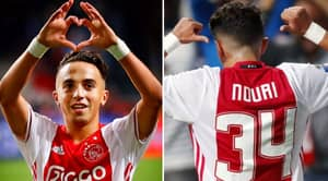 Four Youngsters Are All Wearing No.34 For Appie Nouri