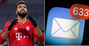 Bayern Munich Striker Left Out Of International Squad After Bizarre Email Error
