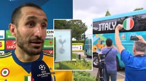 Fans Think Football Is Officially Coming Home As Italy Train At Tottenham's Base Ahead Of Final