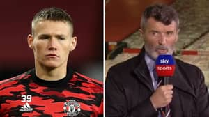 Scott McTominay Responds To Criticism From Roy Keane
