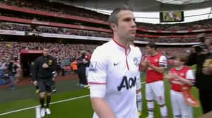 When Arsenal Had To Give Manchester United And Robin Van Persie A Guard Of Honour