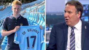 Paul Merson's Reaction When Kevin De Bruyne Signed For Manchester City Is Still Baffling