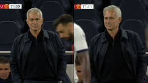 Jose Mourinho Enjoys Cheeky Exchange With Bruno Fernandes