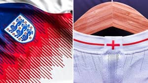 England Release Their Kits Ahead Of The World Cup