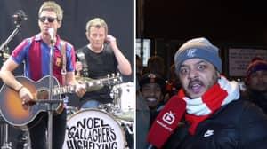 Watch: Noel Gallagher's Arsenal Fan TV Impressions Are Spot On
