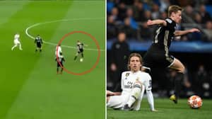 Frenkie de Jong's Individual Highlights Against Real Madrid Prove The Hype Is Real