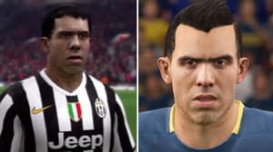 Carlos Tevez Is Back In FIFA 18 But His Rating Is Rather Underwhelming