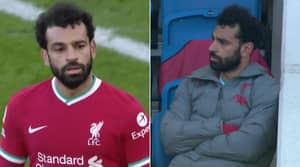Mo Salah Storms Off After Substitution in Brighton v Liverpool