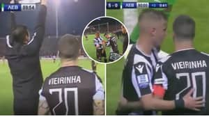 PAOK Bring On Injured Captain In Title Winning Match A Week After ACL Rupture