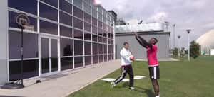 WATCH: Paul Pogba Gets Schooled At Basketball By Juve Manager Allegri