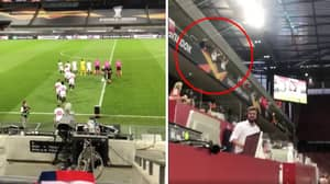 Some Sevilla Fans Snuck Into Europa League Final Dressed In Suits
