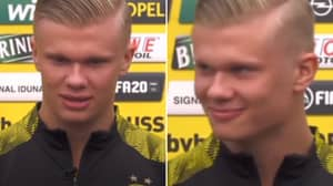 Erling Haaland Gives Perfect Tutorial On How To Say His Name Properly In Rare Interview