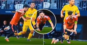 Fans Savage Manchester United's Bruno Fernandes For Blatant Dive Against Villarreal