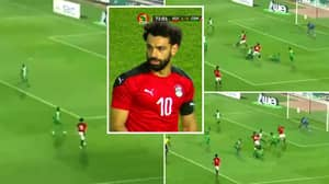 Mohamed Salah Does His Best Lionel Messi Impression By Dribbling Past Four Players Inside The Box