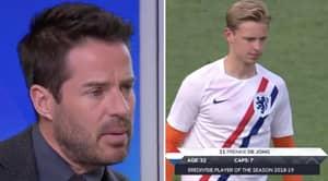 Jamie Redknapp Claims Frenkie De Jong Is The 'Best Midfielder In The World Right Now'