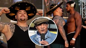 George Foreman Reacts To Andy Ruiz Jr's Weight Ahead Of Anthony Joshua Rematch