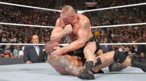 Brock Lesnar Defeats Randy Orton Again, This Time It's A Little Less Painful