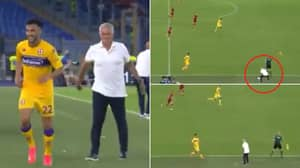 Jose Mourinho Trolls Opposition Player With Incredible Sh*thousery During AS Roma Win