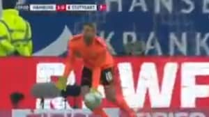 Stuttgart Goalkeeper Ron-Robert Zieler Scores Clanger Of An Own Goal