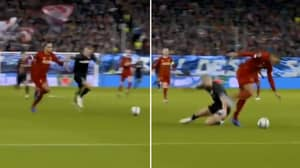 Clip of Virgil van Dijk Chasing Down Erling Haaland Goes Viral