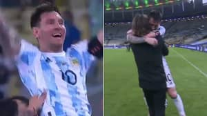 Lionel Messi Wins First Trophy For Argentina As They Beat Brazil To Win Copa America