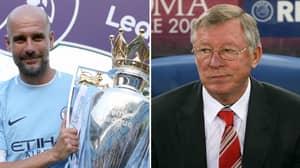 Pep Guardiola Hailed As The 'Greatest Premier League Manager Of All Time' Ahead Of Sir Alex Ferguson