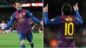 Lionel Messi's 2012 Was The Greatest Year Ever Seen From A Footballer