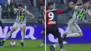 Cristiano Ronaldo Accused Of Diving To Win Last Minute Penalty For Juventus