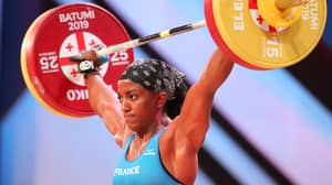 French Weightlifter Breaks Arm In Two Places In Gruesome 110kg Lift