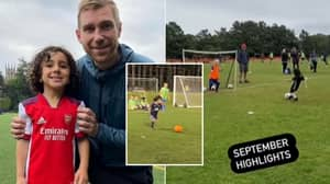 Arsenal Signed Four-Year-Old Nicknamed 'Little Messi', He's Still In Nursery