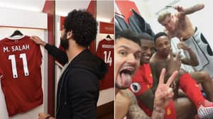 Liverpool Players Have Been Chanting Mo Salah's 'Egyptian King' Song In The Dressing Room This Season