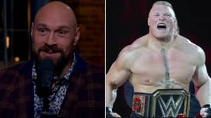 Tyson Fury Believes He Could Beat Brock Lesnar 'In A Proper Fight'
