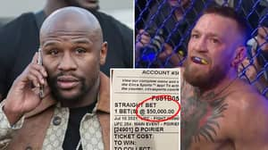 Floyd Mayweather Placed An Outrageous $50,000 Bet On Conor McGregor Losing And It Came In