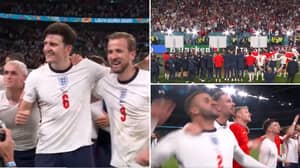 England Players Belting Out 'Sweet Caroline' With 60,000 Fans Inside Wembley Will Give You Goosebumps