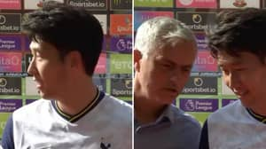 Jose Mourinho Interrupts Son Heung-Min's Post Match Interview To Say He Shouldn't Have Been Named MOTM