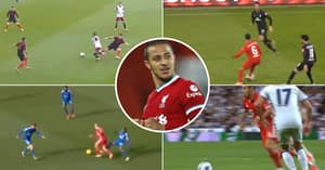Proof That Thiago Alcantara's Signature 'Thiago Turn' Is Impossible To Defend Against