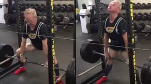 89-Year-Old Man Deadlifts 405lbs And Proves Age Is Just A Number