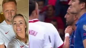 Kamil Glik's Wife Receives Sickening Death Threats On Social Media After England Game