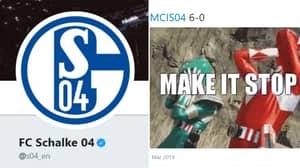 Schalke's Twitter Account Stole The Show Last Night Despite Embarrassing 7-0 Defeat