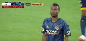 WATCH: Ashley Cole Sent Off After Two Ridiculously Quick Yellow Cards