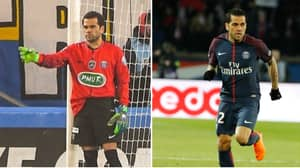 Dani Alves Has Played In Every Position For PSG
